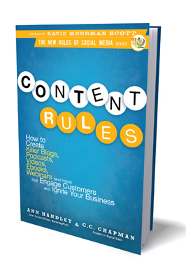 Read more about the article Social Media Book Club April Selection: Content Rules by Ann Handley & C.C. Chapman