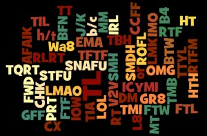 Twitter Acronyms and Abbreviations