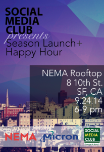 SMC-San Francisco: Season Launch and Happy Hour @ NEMA Rooftop | San Francisco | California | United States