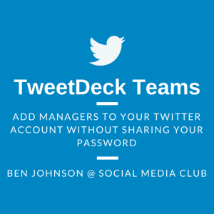 Read more about the article TweetDeck Teams